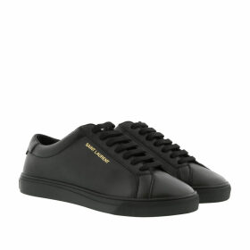 Saint Laurent Sneakers - Andy Sneakers Leather Black - black - Sneakers for ladies