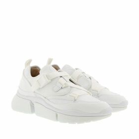 Chloé Sneakers - Sonnie Low Top Sneaker Calfskin White - white - Sneakers for ladies