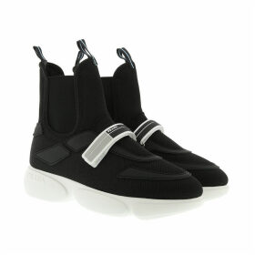 Prada Sneakers - Cloudbust High Top Sneakers Black/White - black - Sneakers for ladies