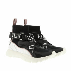 Valentino Sneakers - VLTN Heroes Her Knit Sneakers White/Black - black - Sneakers for ladies