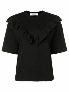 MSGM bib top - Black