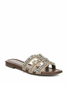 Sam Edelman Women's Bay 8 Embellished Slide Sandals