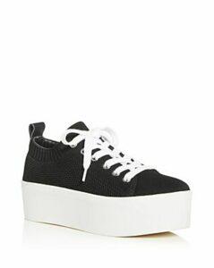 Aqua Women's Picky Knit Low-Top Platform Sneakers - 100% Exclusive