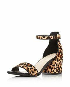 Kenneth Cole Women's Hannon Leopard Block Heel Sandals