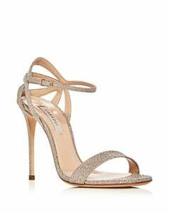 Casadei Women's Glitter Ankle-Strap High-Heel Sandals