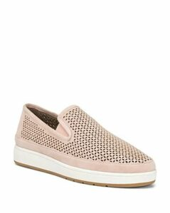 Donald Pliner Women's Maddox Perforated Suede Slip-On Sneakers