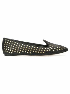 Tory Burch Olympia stud loafers - Black