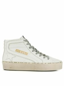 Golden Goose Hi Slide sneakers - White