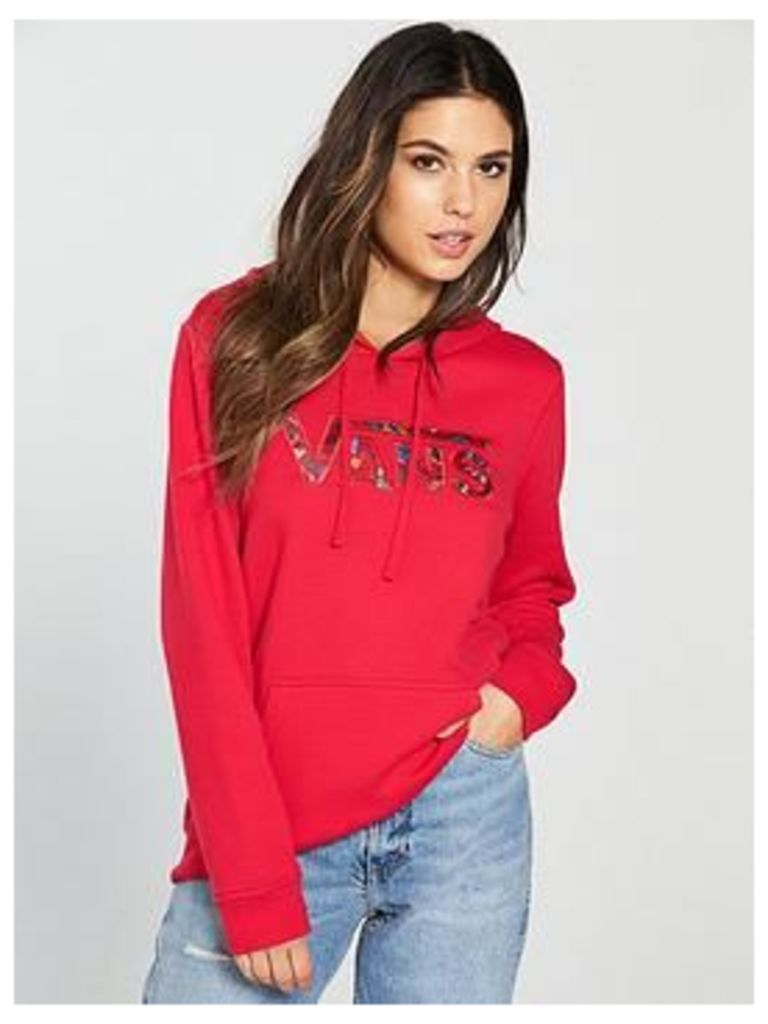 Vans Outshine Hoodie - Red , Red, Size Xl, Women