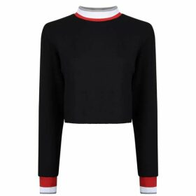 Twenty Raw Cropped Sweatshirt