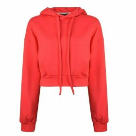 Twenty Cropped Hooded Sweatshirt