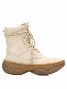 Alexander Wang lace-up boots - Neutrals