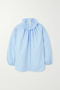 GANNI - Mohair And Wool-blend Sweater - Black