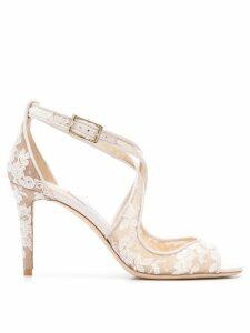 Jimmy Choo Emily 85 sandals - White