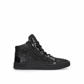 Kurt Geiger London Jacobs - Black High Top Trainers