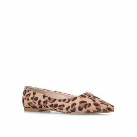 Carvela Mousey - Leopard Print Ballerina Pumps