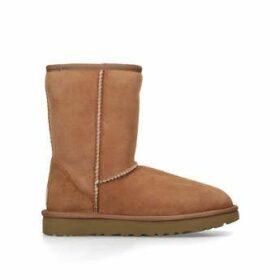 Ugg Short Chestnut Ii - Brown Suede Short Boots