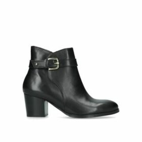 Nine West Calm - Black Block Heeled Ankle Boots