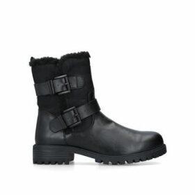 Kg Kurt Geiger Snug 2 - Black Biker Boots