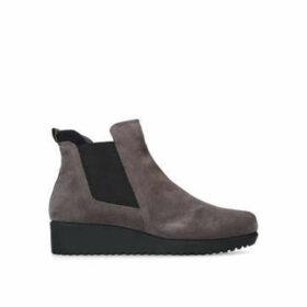 Carvela Comfort Regina - Taupe Suede Ankle Boots