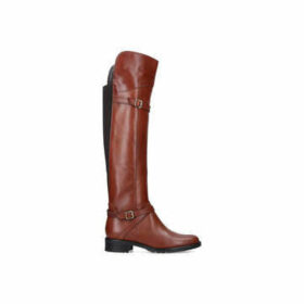 Carvela Comfort Viv - Tan Leather High Leg Boots