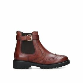 Carvela Stoppitt - Tan Leather Ankle Boots