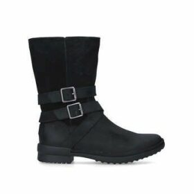 Ugg Lorna Boot - Black Calf Boots