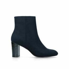 Carvela Simmer - Navy Block Heel Ankle Boots