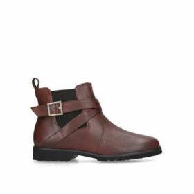 Carvela Comfort Robbie - Tan Leather Chelsea Boots