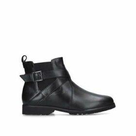 Carvela Comfort Robbie - Black Leather Chelsea Boots
