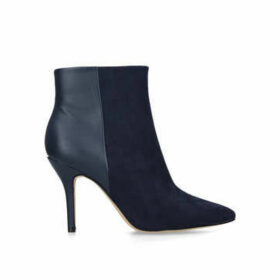 Nine West Flagship Ankle Boot - Navy Stiletto Heel Ankle Boots