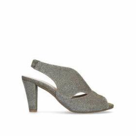 Carvela Comfort Arabella - Metallic Mid Heel Sandals