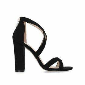 Kg Kurt Geiger Faun2 - Black Block Heel Sandals