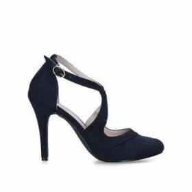 Miss KG Natalie - Navy High Heel Court Shoes
