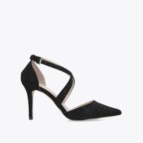 Carvela Kross Jewel - Black Studded Court Shoes