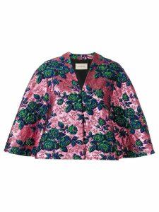Gucci floral brocade jacket - Pink