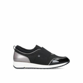 Miss KG Karla - Black Low Top Trainers