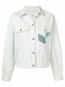 Isabel Marant Étoile Lindya patchwork denim jacket - Blue