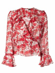 Rixo Diana blouse - Red