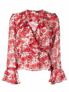 Rixo Diana blouse - Red