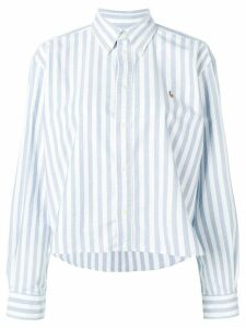 Polo Ralph Lauren striped long-sleeve shirt - White