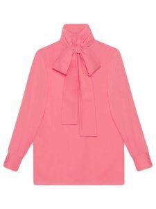 Gucci Silk satin shirt - Pink