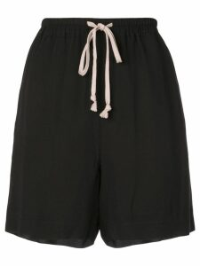 Rick Owens drawstring shorts - Black