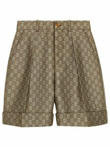 Gucci GG wool canvas shorts - Neutrals