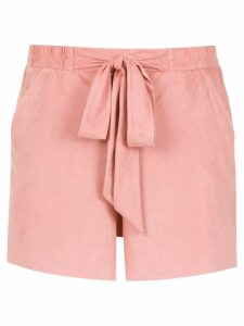 Olympiah tie detail Vicenza shorts - PINK