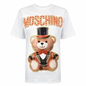 Moschino Circus Teddy T Shirt
