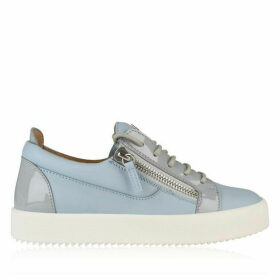 Giuseppe Zanotti May Leather Low Top Trainers