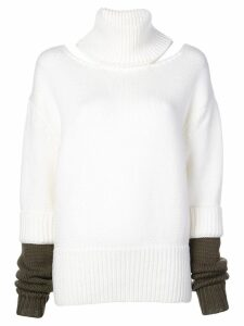 Monse roll-neck jumper - White