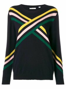 Chinti & Parker colour-block fitted sweater - Blue