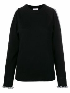 See By Chloé naked shoulder sweater - Black